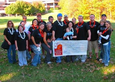 Team Ryder: Kidney Walk '09 T-Shirt Photo