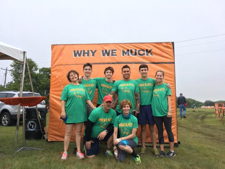 Mudkats At Ms Fundraiser Muckfest Ms—Dallas T-Shirt Photo