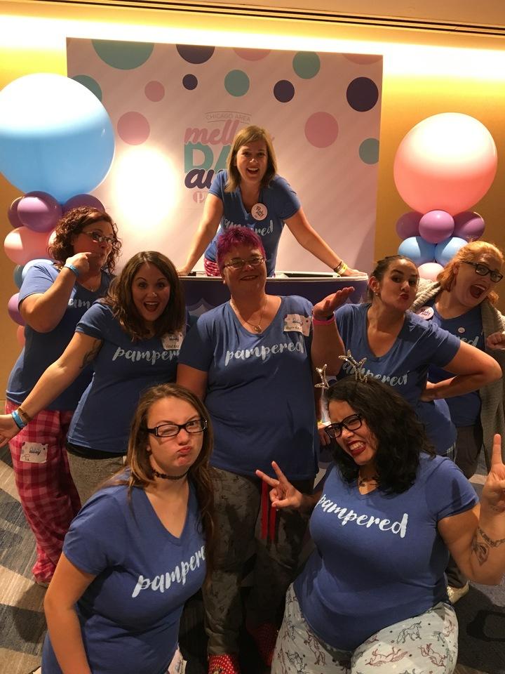 Pampered With Team Posh, Naturally! T-Shirt Photo