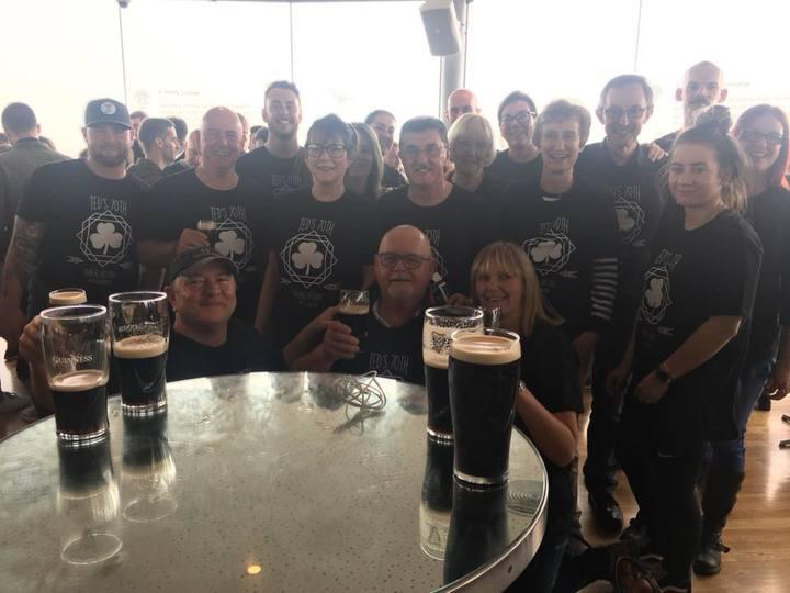 Ted's 70th Dublin Ireland T-Shirt Photo