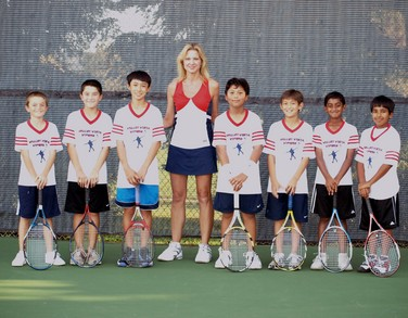 Valley Vista Vipers Junior Tennis Team T-Shirt Photo