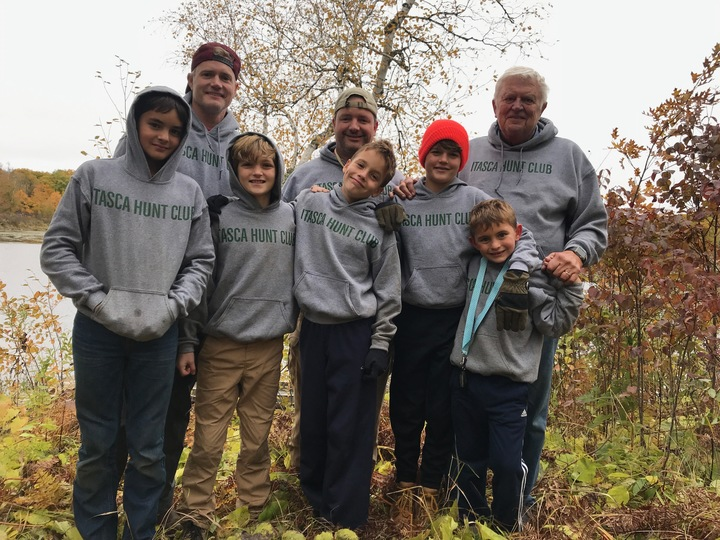 """Cousins """" Itasca Hunt Club"""" Loving And Learning The Ways Of Nature! T-Shirt Photo"""