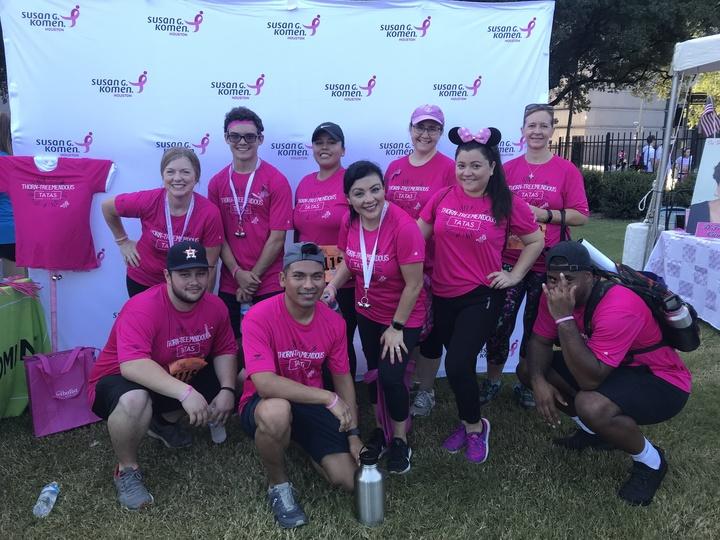 Susan G Komen Breast Cancer Walk T-Shirt Photo