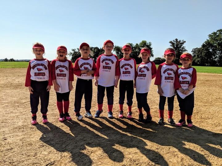 2018 Northampton Hawks   8 U Fall Ball Team Is Ready To Hit Bombs!!! T-Shirt Photo