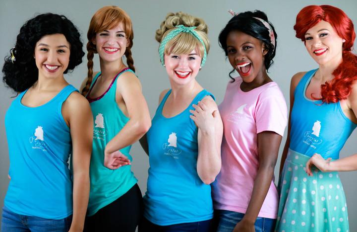Many Princesses, One Heart T-Shirt Photo