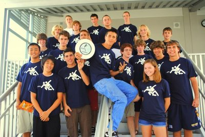 Boca High Ultimate Frisbee T-Shirt Photo