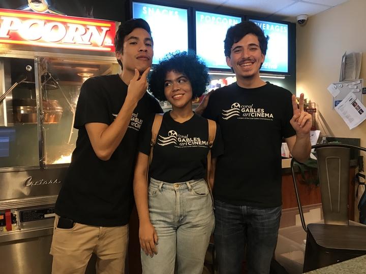 Coral Gables Art Cinema Staff T-Shirt Photo