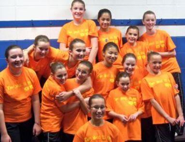 Dazzlers Juvenile Synchronized Skating Team T-Shirt Photo