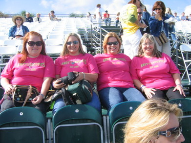 Andy's Groupies T-Shirt Photo