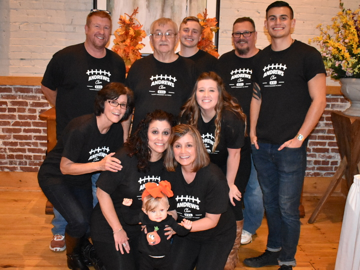 Andrews Clan T Shirt Photo Surprise 70th Birthday