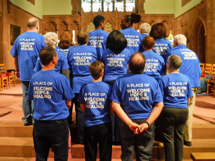 Trinity Church Hartford T-Shirt Photo