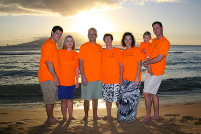 Noga Family Vacation T-Shirt Photo
