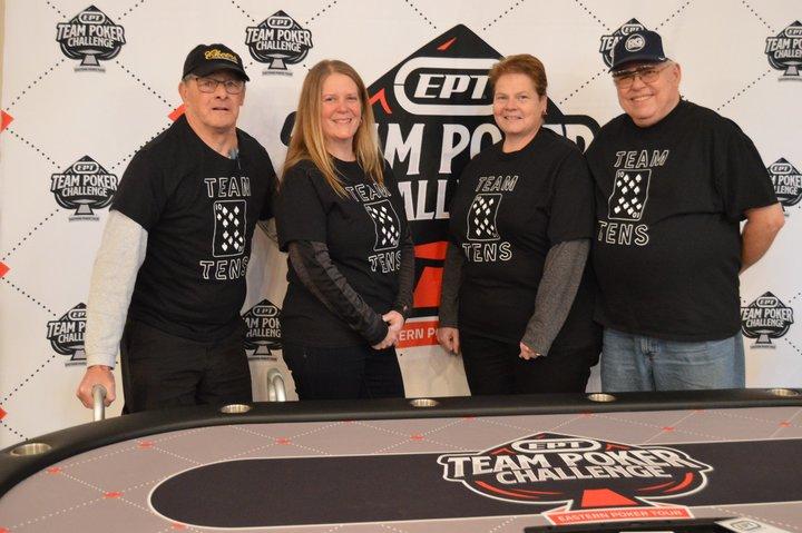 Team Tens Poker Shirt T-Shirt Photo