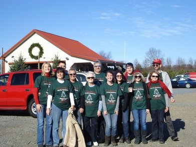 20th Anniversary Xmas Tree Hunt T-Shirt Photo