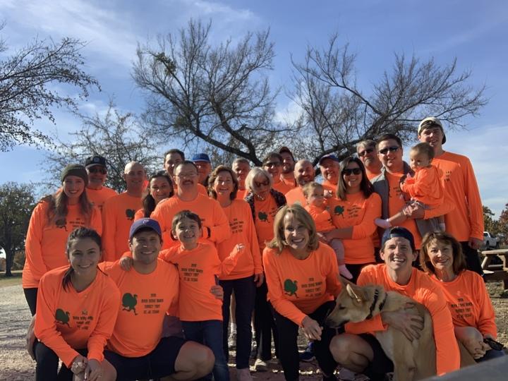 2018 Buck Ridge Turkey Trot T-Shirt Photo