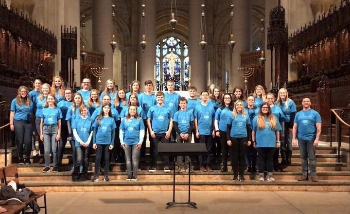 Bloom Carroll Choirs, Nyc Trip 2018 T-Shirt Photo