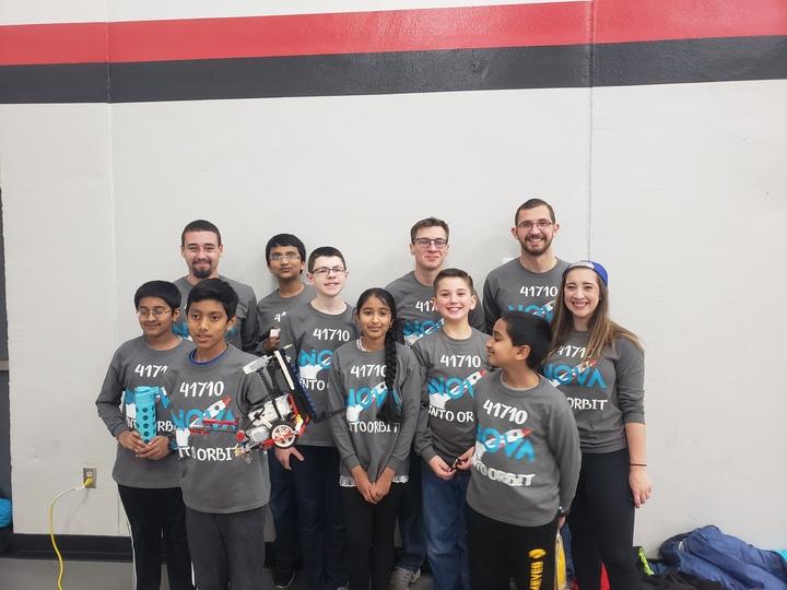 First Lego League Team Nova! T-Shirt Photo
