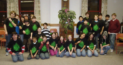 Splat Library Youth Party T-Shirt Photo
