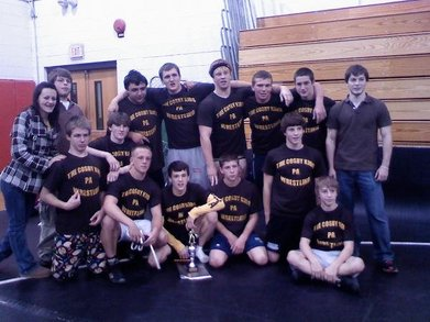 Cosby Kids Wrestling Team T-Shirt Photo