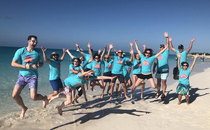 Camp Ooday   Turks & Caicos 2018 T-Shirt Photo