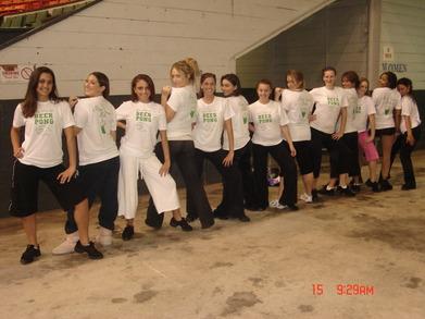 Dance Team Girls T-Shirt Photo