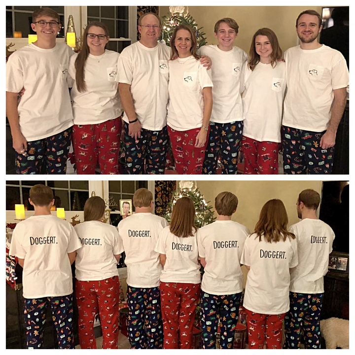 It's A Doggert Family Christmas!  T-Shirt Photo