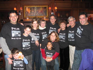 "Family ""Rocks 4 A Cure"" With 12 Year Old Rock Star! T-Shirt Photo"
