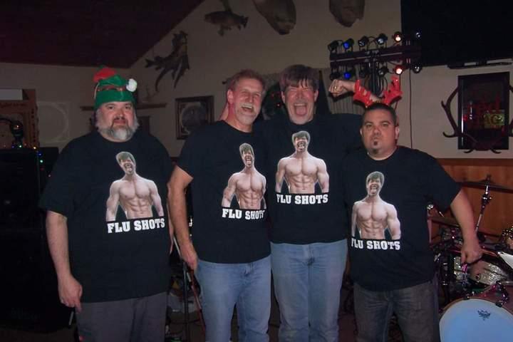 Flu Shots Band Shirts T-Shirt Photo