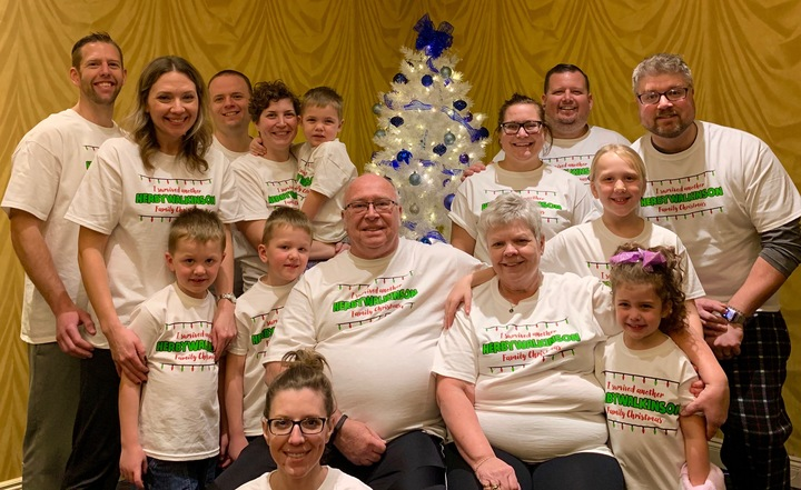 Herbywalkinson Christmas  T-Shirt Photo