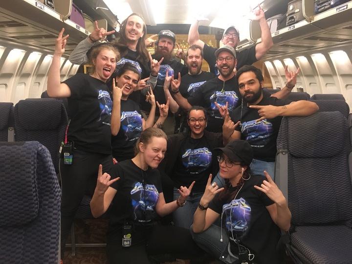 Nbc's Manifest Production Team  T-Shirt Photo