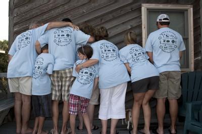 Custom T-Shirts for Family Vacation 2009 - Shirt Design Ideas