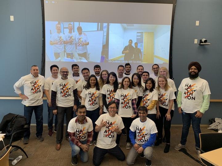 Home Hackathon 2019 T-Shirt Photo