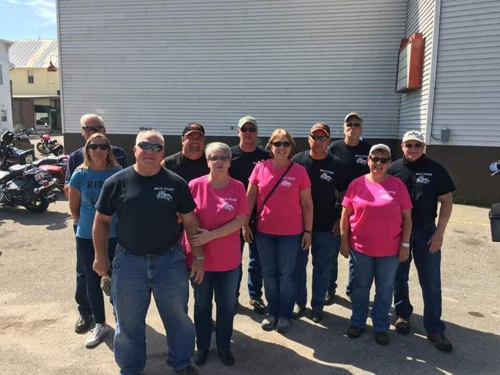 Mild Hogs  Riding Group T-Shirt Photo