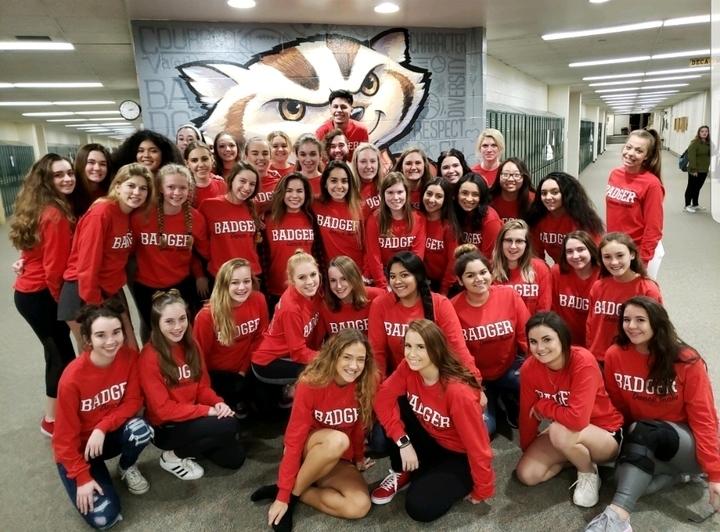 Badger Varsity Dance Team T-Shirt Photo