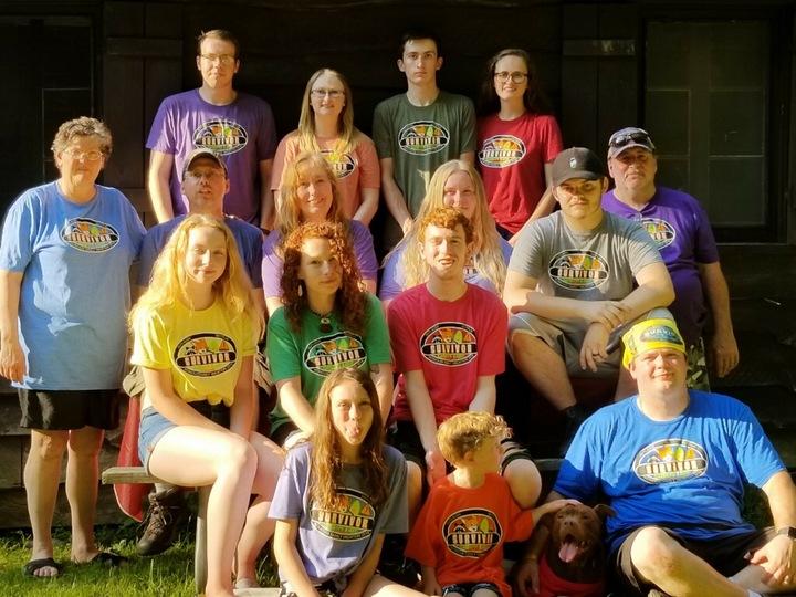 Romouw Annual Cabin Week T-Shirt Photo