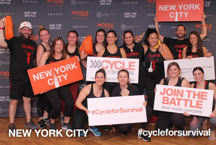 Cycle For Survival Team Cyclepaths T-Shirt Photo