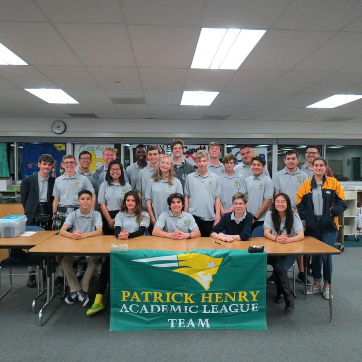 Patrick Henry High School Academic League T-Shirt Photo