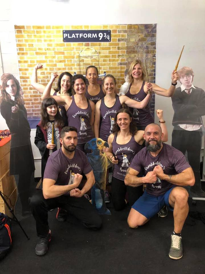 Cross Fit Open 19.1    Dumbbelldore's Army Works Its Magic T-Shirt Photo