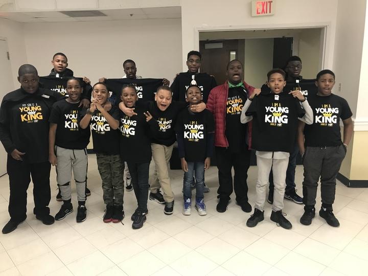 Men Becoming Kings Youth Mentoring T-Shirt Photo