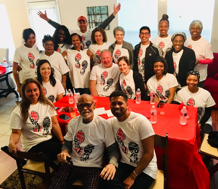Team Juliano Aids Walk 2019 T-Shirt Photo
