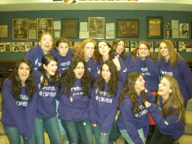 Weston's Women's A Cappella T-Shirt Photo