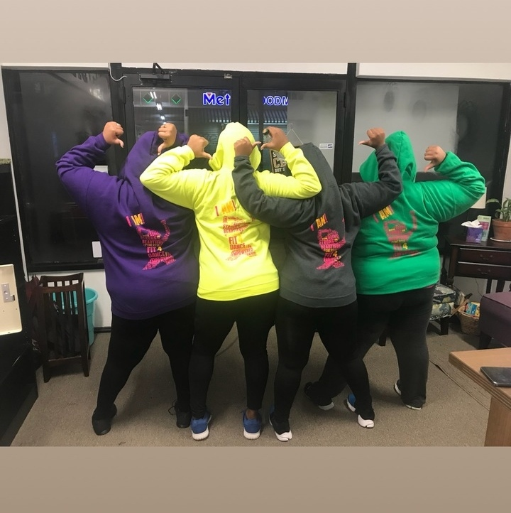 Fit4 Dance Hoodies T-Shirt Photo