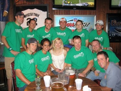 Jim's Sports Bar   Pub Crawl 2009 T-Shirt Photo