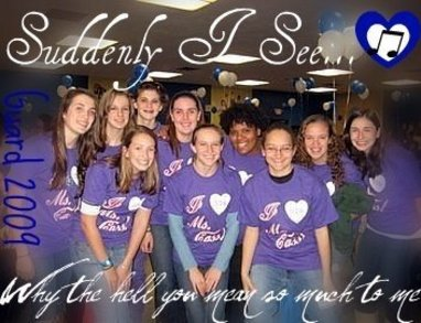 Whs Colorguard Loves Ms. Cass T-Shirt Photo