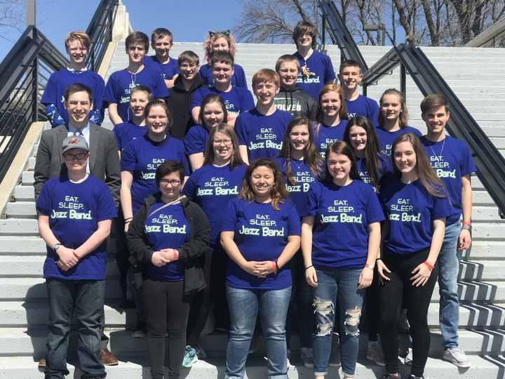 Wolves Jazz Place 7th In The State! T-Shirt Photo