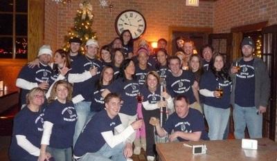 2009 Sunshine Factory Drinking Team T-Shirt Photo