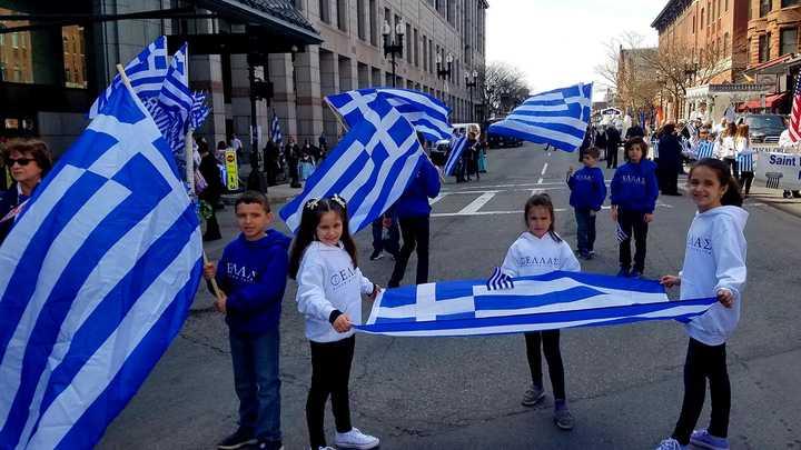 Greek Group Tutoring T-Shirt Photo