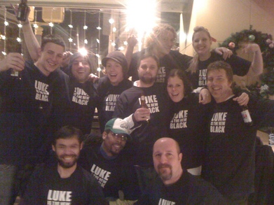 Luke Is The New Black T-Shirt Photo