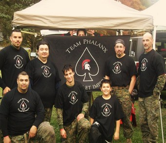 Phalanx Paintball Team T-Shirt Photo