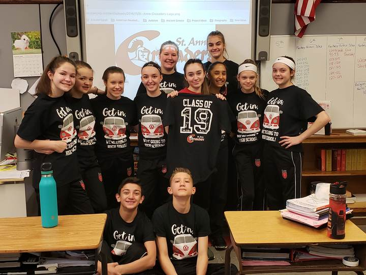 Get In, 8th Grade's Going To High School! T-Shirt Photo